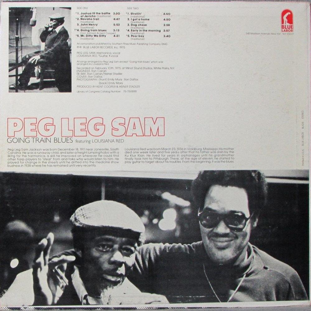 Peg Leg Sam Going Train Blues