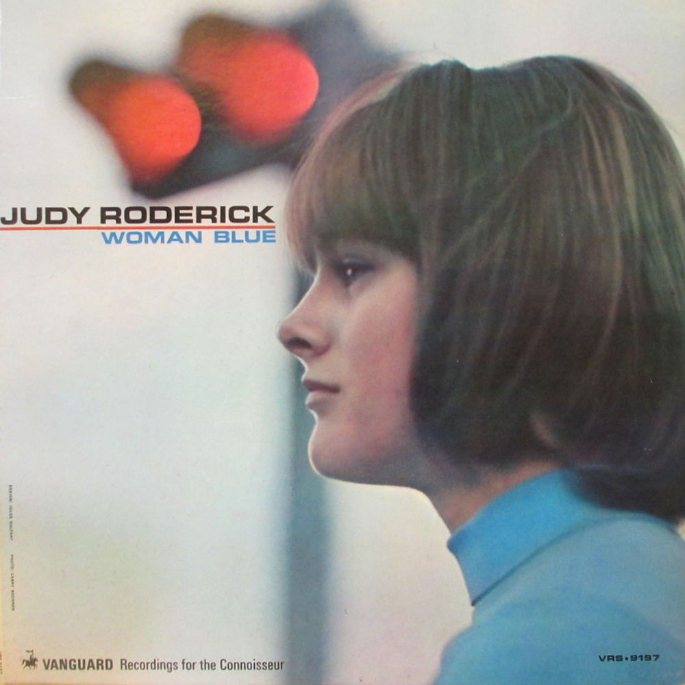 Illustrated Judy Roderick discography