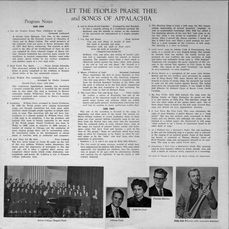 Illustrated Joan Toliver Discography Barton Python Mono Capitol Hb 2377 Berea Lp 2