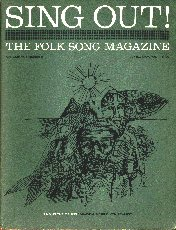 Cover of Sing Out Magazine April - May 1967 Vol 17, No.2 - Singing The Fishing